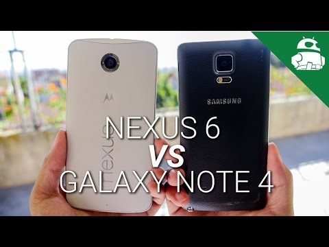 Nexus 6 vs Samsung Galaxy Note 4!