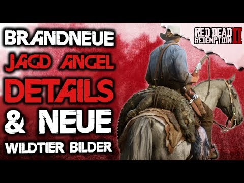 Das Jagen & Angeln wird krass!!! - Red Dead Redemption 2 Deutsch Open World News