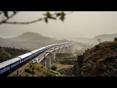 Superb View of Udhampur City from Train | Jammu and Kashmir | Must Watch | SpscVids