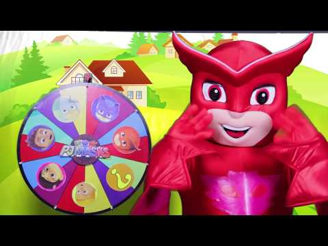 Paw Patrol Game with Skye - Surprise Toys from Paw Patrol, Spiderman, Spin the Wheel