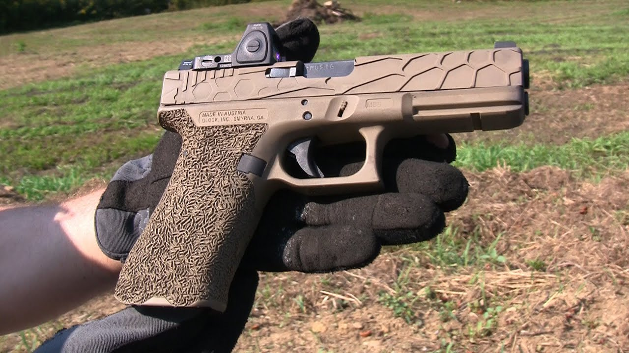 The Epic Glock Outstanding Custom Work On A Budget Youtube
