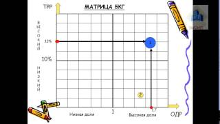 Практическое задание : построение матрицы БКГ