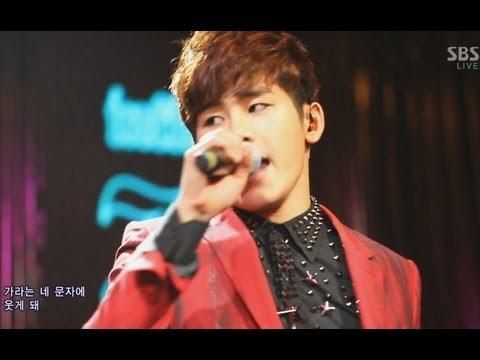 인피니트 H (INFINITE H) [니가 없을 때 (feat. Zion.T)] @SBS Inkigayo 인기가요 20130203