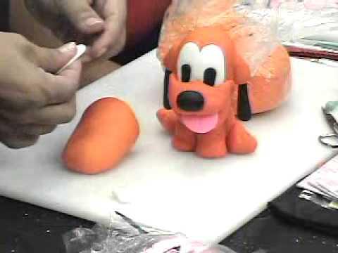 Pluto em biscuit
