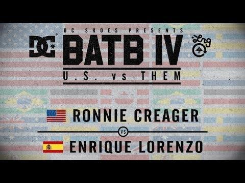 Ronnie Creager Vs Enrique Lorenzo: BATB4 - Round 1