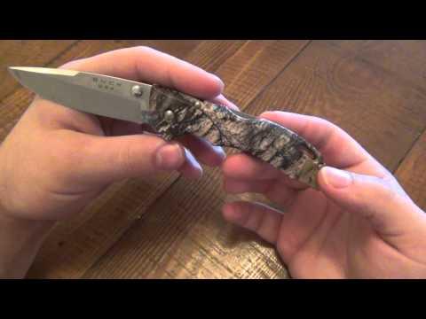 Knife Review : Buck Bantam BLW (Camouflage)