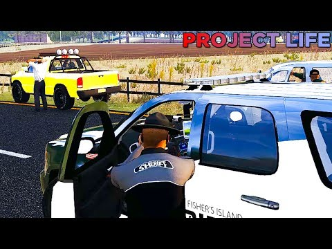 Arma 3 Life Police #17 - Off Duty Cop Crazy Driving