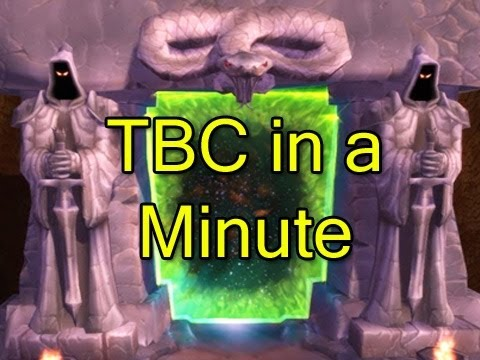 The Burning Crusade in a Minute by Wowcrendor (WoW Machinima)