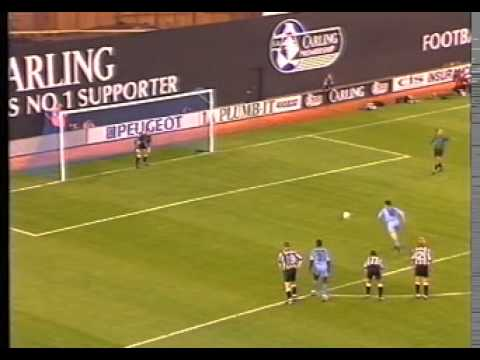 Coventry City v Newcastle United, 18th August 1993, Premier League