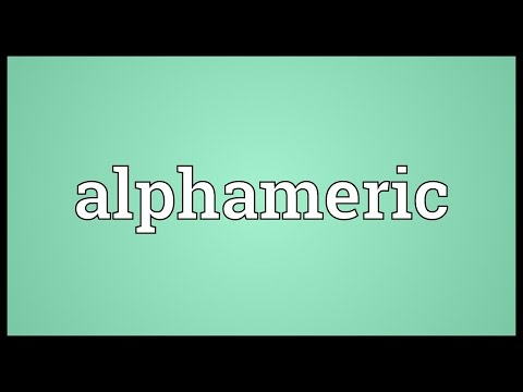 Header of alphameric