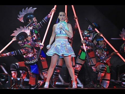 Katy Perry deslumbra con su concierto en el DF