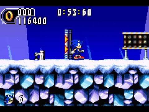 Sonic Advance 2 - Sonic Advance 2 Ice Paradise Act 2 music - User video
