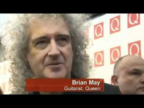 Brian May Red Carpet Q Awards - 24 Oct 2011