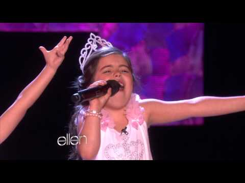 Sophia Grace and Rosie Sing 'Rolling in the Deep' Music Videos