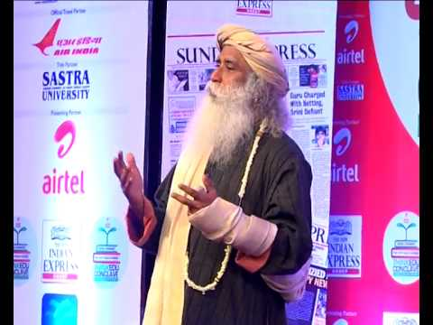 Tnie Thinkedu 2014 Jaggi Vasudev video