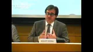 Presentació i debat sobre nova legislació catalana d'ordenació litoral - Agustí Serra
