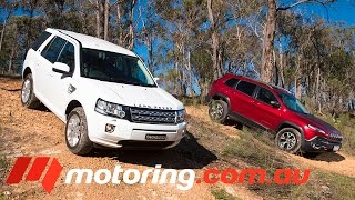 Jeep Cherokee v Land Rover Freelander 2: Video Review