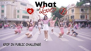 "download musica KPOP IN PUBLIC CHALLENGE TWICE 트와이스 - ""What is Love?"" DANCE COVER by CAC from Vietnam"