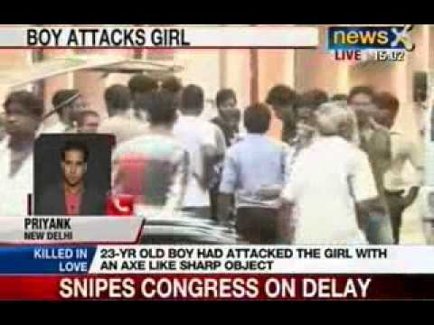 JNU Delhi: Girl student attacked in campus with axe, attacker dies