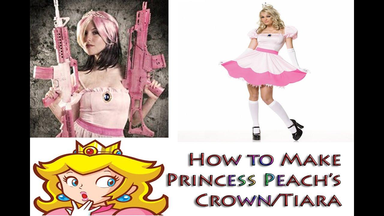 Make Your Own Princess Crown Own Princess Peach Crown