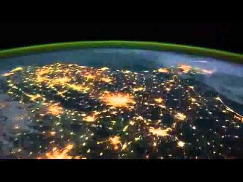 ISS Timelapse from Earth  (Zeitraffer)