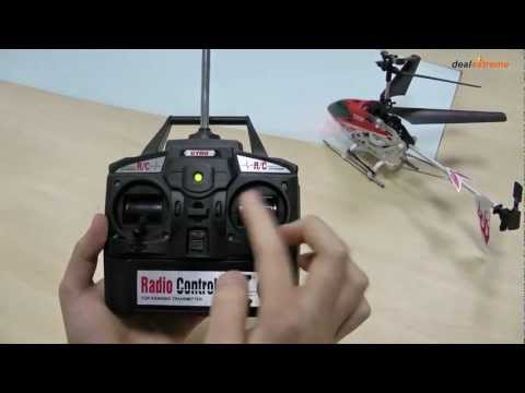 Wireless 3-CH Control R/C Radio Control Helicopter - DealExtreme