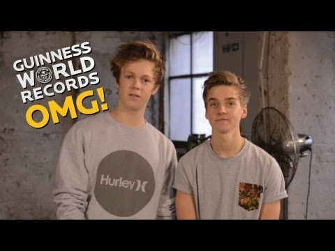 Caspar Lee & Joe Sugg on The Record SLAM // Coming Soon!!