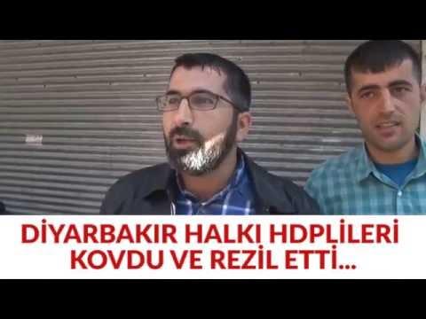 DÄ°YARBARKIRLILAR HDP MÄ°LLETVEKÄ°LÄ°NÄ° REZÄ°L ETTÄ° !KÃœRT HALKI ARTIK HDP VE PKK'DAN KORKMUYOR