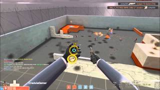 Tf2 Spy trick and normal stabs.