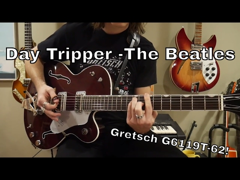 Day Tripper - The Beatles Lead Guitar on Gretsch Tennessee Rose
