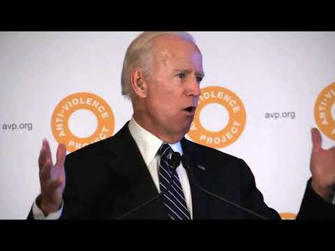 VP JOE BIDEN on HARVEY WEINSTEIN @ AVP COURAGE Awards 10/11/17