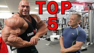 Top 5 nejděsivějších svalovců kteří nedopadli dobře