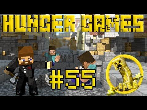 Minecraft Hunger Games #55 - Башни с сундуками