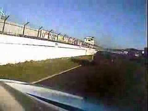 HRED Motorsport Honda Integra Type R Albi passing Porsches 968
