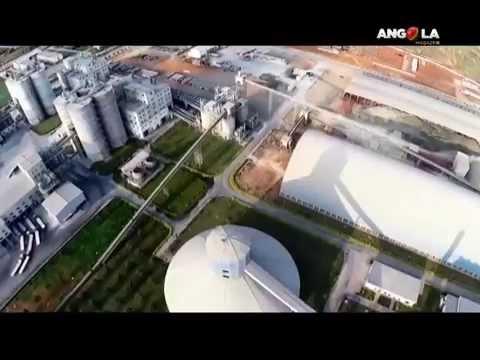Angola Magazine - Fábrica de Cimento da ZEE