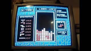NES Tetris - Maxout@level25