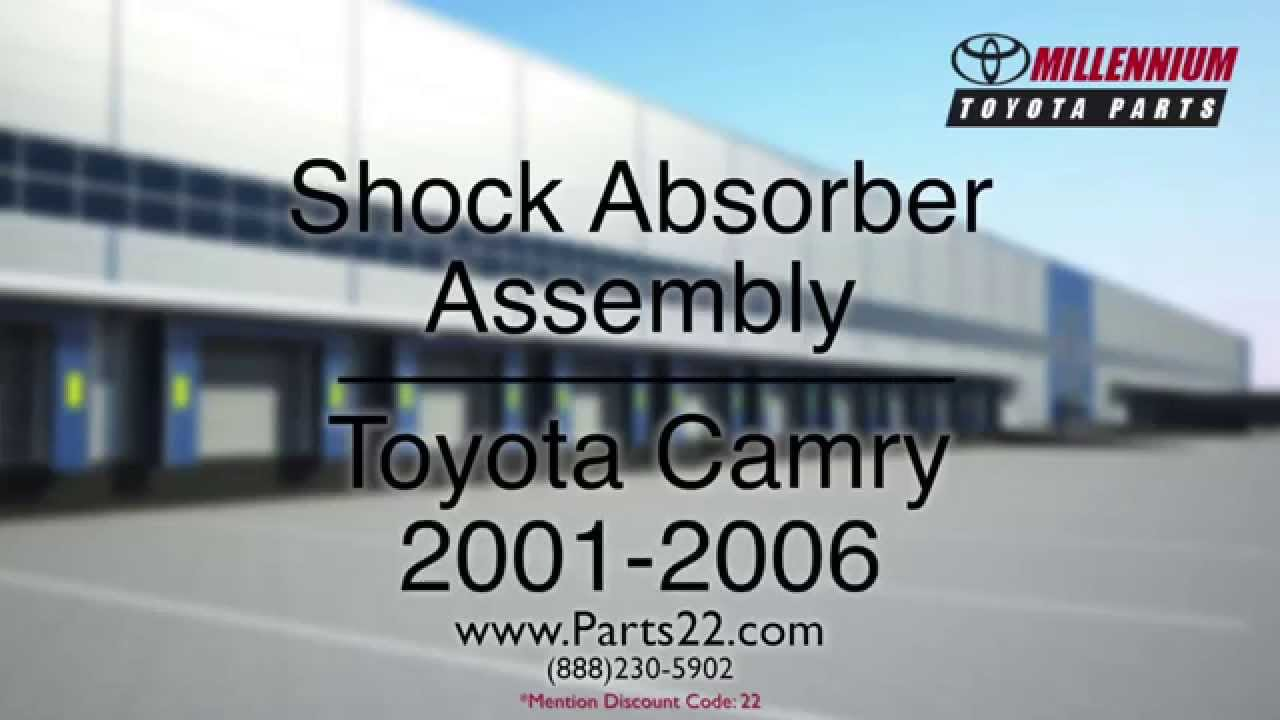 toyota camry shock absorber assembly 2001 2006 parts toyota part 48520 a9. Black Bedroom Furniture Sets. Home Design Ideas