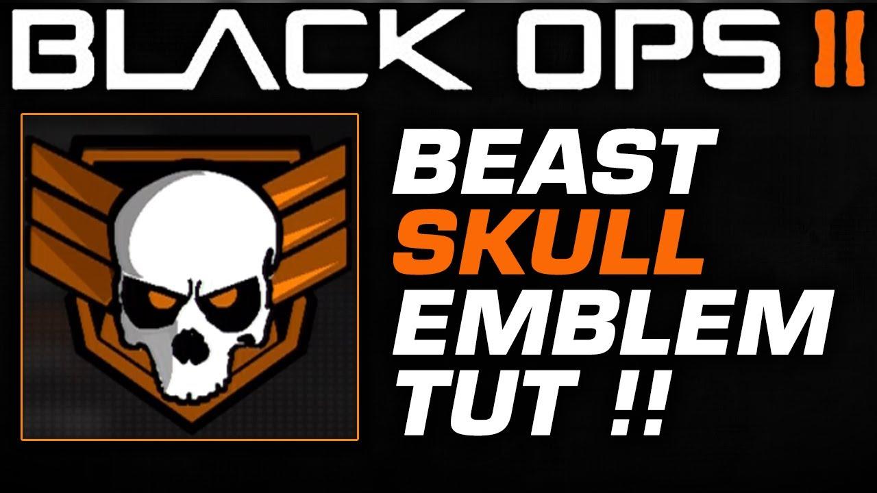 Black Ops 2 Skull Logo Black Ops 2 Beast Skull
