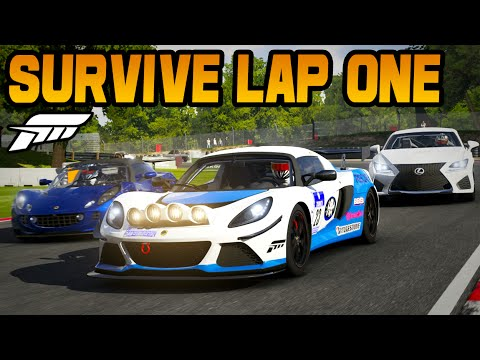 Forza 6 HOW TO SURVIVE LAP ONE (Tips & Tricks)