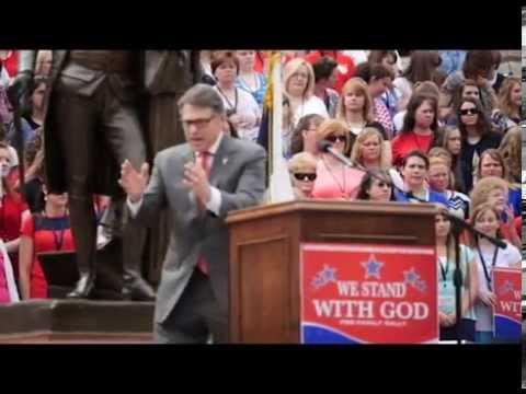 Gov. Rick Perry at South Carolina #WeStandWithGod Rally