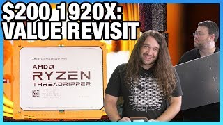 AMD Threadripper 1920X Benchmark in 2019: $200 HEDT vs. 3600 & More