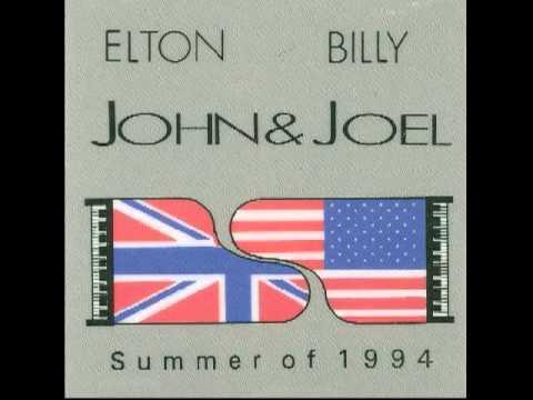Billy Joel Elton John Face to Face cd Billy Joel Elton John Live
