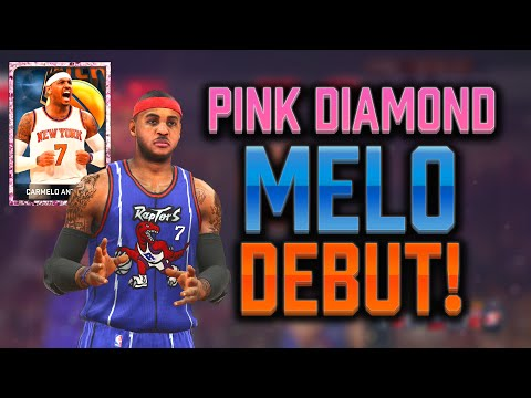 Nba 2k15 Myteam Pink Diamond Carmelo Drops 40 In A Thriller! Pink Diamond Melo Debut! video