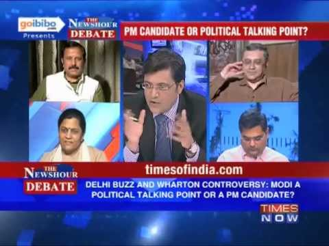 Debate: Is Narendra Modi a PM candidate or political talking point? (The Full Debate)