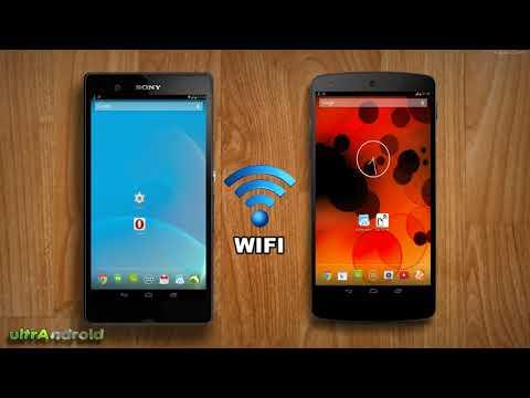como compartir archivos por wifi en tu android