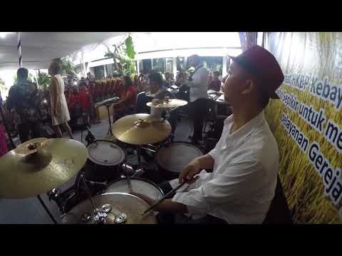 Mengenang alm Benny Panjaitan Judika Sihotang ft Hamonangan Butarbutar (DrumCam) - Gereja Tua