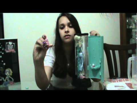 Monster High Câmara de Hidratação da Lagoona Blue Review pt/br