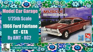 Model Car Garage - 1966 Ford Fairlane GT/GTA by AMT