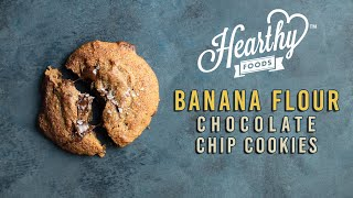 How to Use BANANA FLOUR to Make Chocolate Chip Cookies