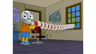 Thomas The Dank Engine but Bart Uses A Megaphone